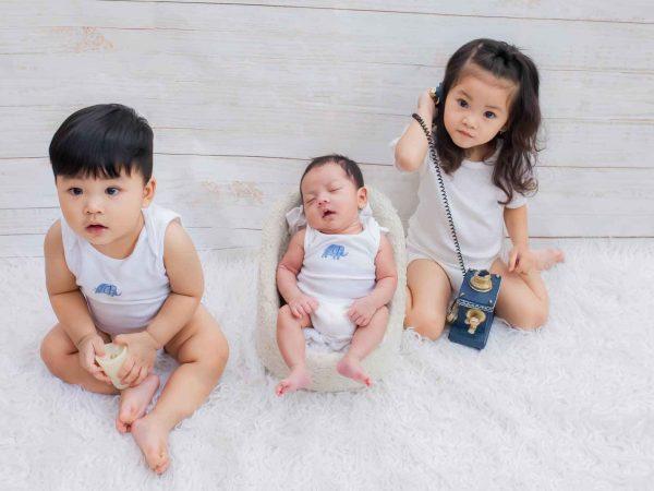 3 con của Hải Băng