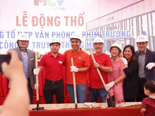 MCV Group tổ chức lễ động thổ xây dựng MCV Complex rộng 5.500m2