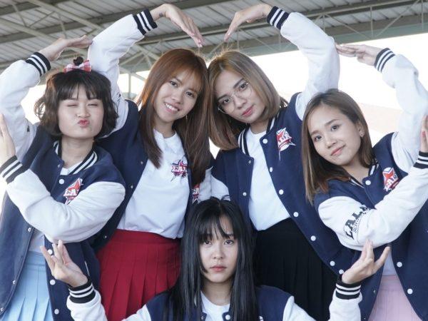 O2O Girl Band gây tò mò trong lần đầu tiên đóng phim