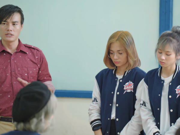 Tập 5 Lala School 5 – Đường đua Idol thế hệ Z: 'Thuyền bách hợp' Nếp – Anna bị thầy giáo chỉnh đốn tác phong trước lớp